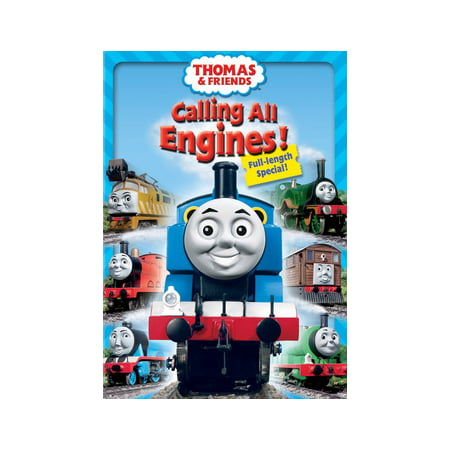 Thomas And Friends Thomas Halloween Adventures Dvd (Thomas & Friends: Calling All Engines!)