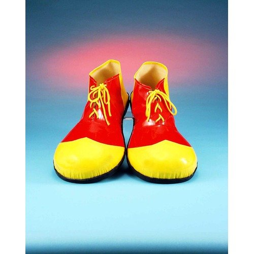 Forum Novelties 25015-07 Red and Yellow Clown Shoes Adult