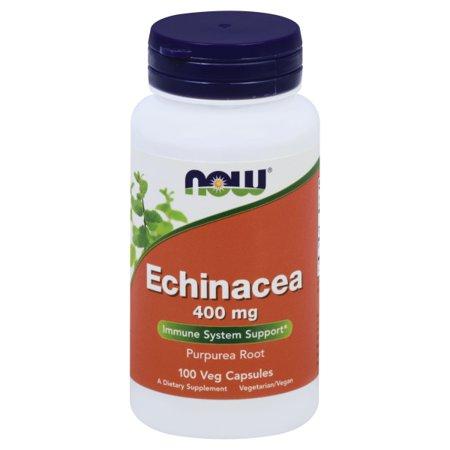 NOW Foods - Echinacea (Purpurea Root) 400 mg. - 100 Capsules Echinacea Purpurea Echinacea Medicine