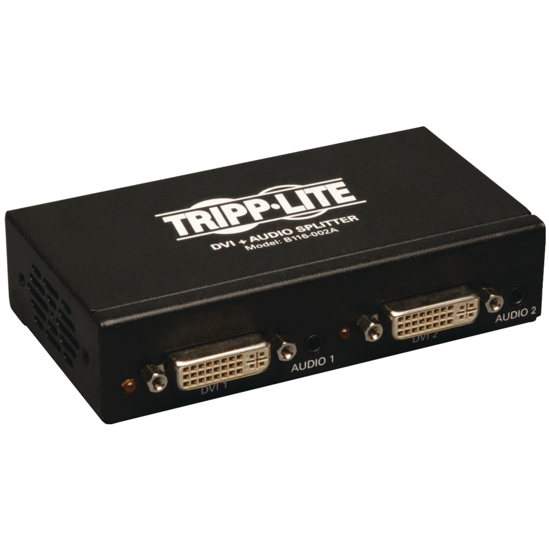 Tripp Lite B116-002A 2-Port DVI Splitter