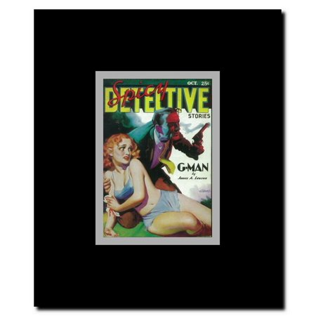Spicy Detective Stories (Pulp) Framed Movie Poster](Spicy Detective)