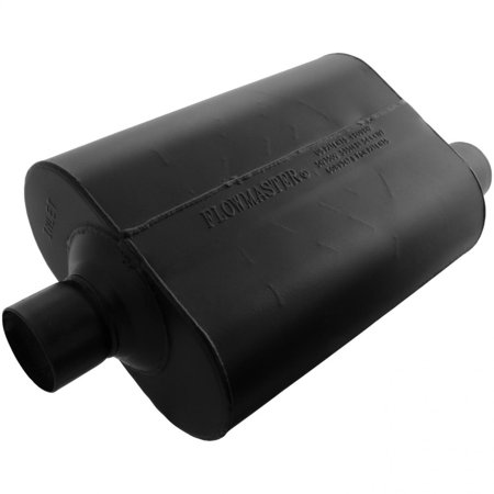 Flowmaster - 952547 - Super 40 Muffler - 2.50 Center In / 2.50 Offset Out