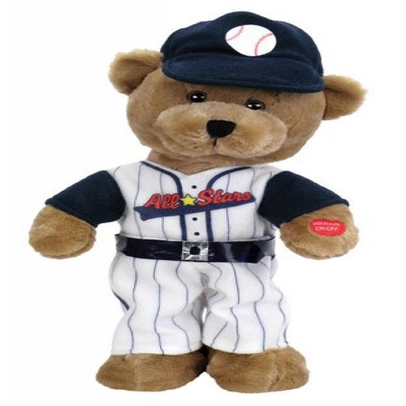 Chantilly Lane Animated Slugger Baseball Bear