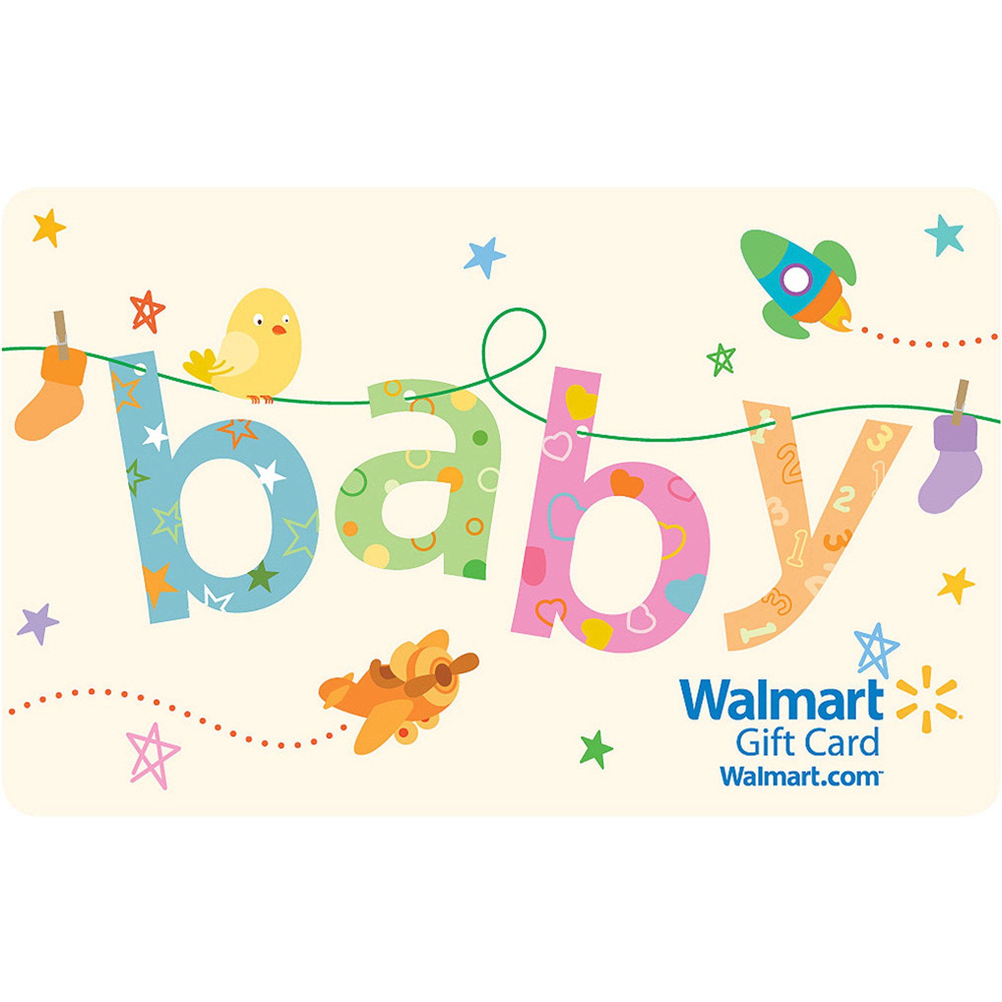 Baby Shower Thank-You Gift Card