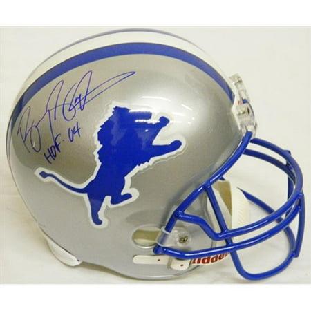 buy online b749a 3ecd0 Barry Sanders Signed Lions Riddell T & B Full-Size Replica ...