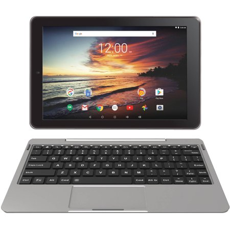 RCA 10 Viking Pro with WiFi 2-in-1 Touchscreen Tablet PC Featuring Android 6.0 (Marshmallow) Operating System