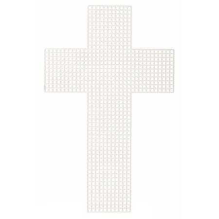 Plastic Canvas Cross 3In 10 Piece Package