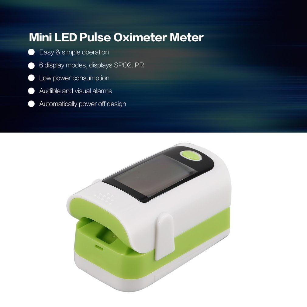 Digital Mini Portable Medical Oled Finger Pulse Oximeter Heart Rate Spo2 Hemoglobin Saturation Meter Tester For Family Home