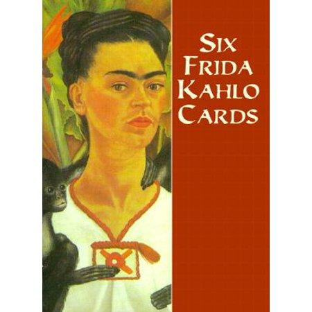 Frida Kahlo Flower Headband (Six Frida Kahlo Cards)