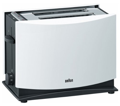 Braun HT400 2-Slice Toaster WILL NOT WORK IN USA/CANADA OUTLETS, 220VOLT