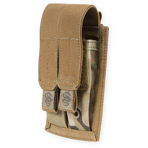 Tacprogear Multicam Double Pistol Mag Pouch