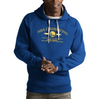 Golden State Warriors Antigua 2018 NBA Finals Champions Victory Pullover Hoodie - Royal