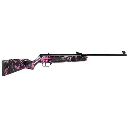 Hatsan Alpha Youth Muddy Girl Pink Camo Break Barrel Airgun .177 Calibier 450