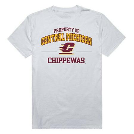 CMU Central Michigan University Chippewas Property Tee T-Shirt - Central Michigan University Halloween