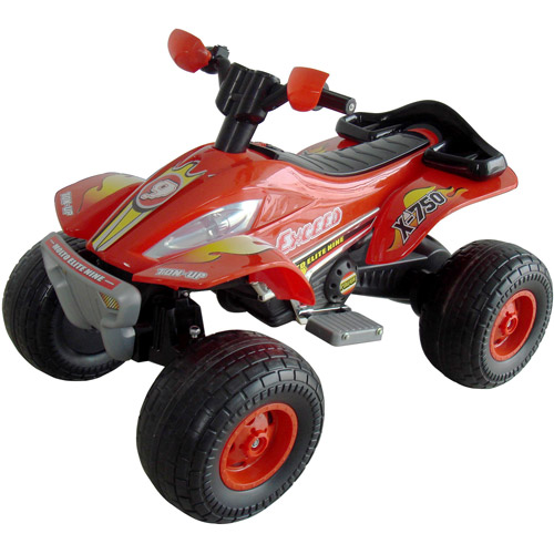 Rockin' Rollers X-750 Exceed Speed Battery-Operated Ride-On ATV