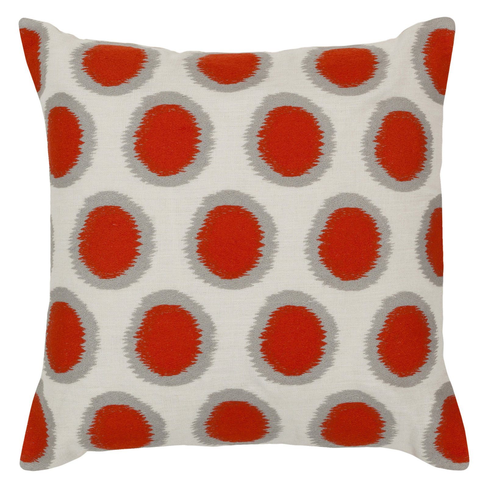 Surya Surya Pillows Area Rugs - AR091 Contemporary Papyrus/Limeade Polka Dot Rings Circles Rug