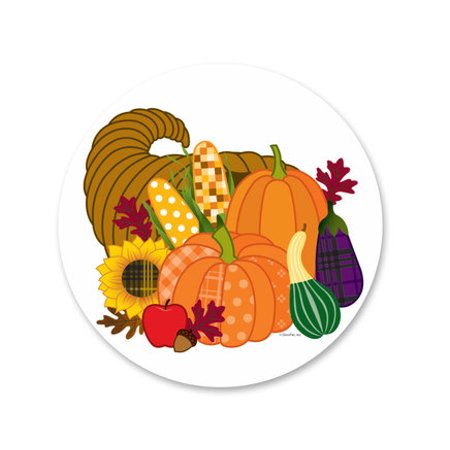 Fall Harvest Edible Icing Image Cake Decoration Topper -1/4 Sheet (Fall Cakes)