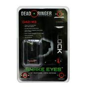 Dead Ringer Snake Eyes Pistol Sight Glock 42