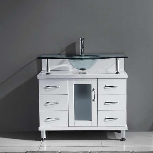 Latitude Run Runge 36 Single Bathroom Vanity Set With Tempered