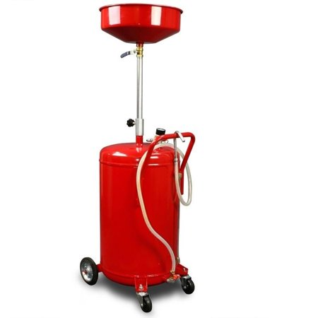 Industrial Oil (GHP Industrial Portable Adjustable 20 Gallon Oil Lift Drain Tank with Wheels)