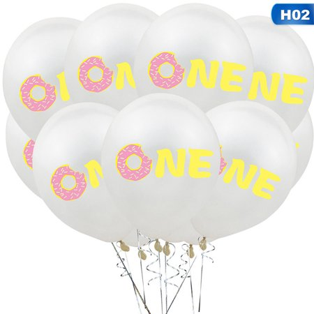 KABOER Baby Shower Christening Party Latex Donut Balloons Girls Boys Decorations](Baby Christening Decorations)