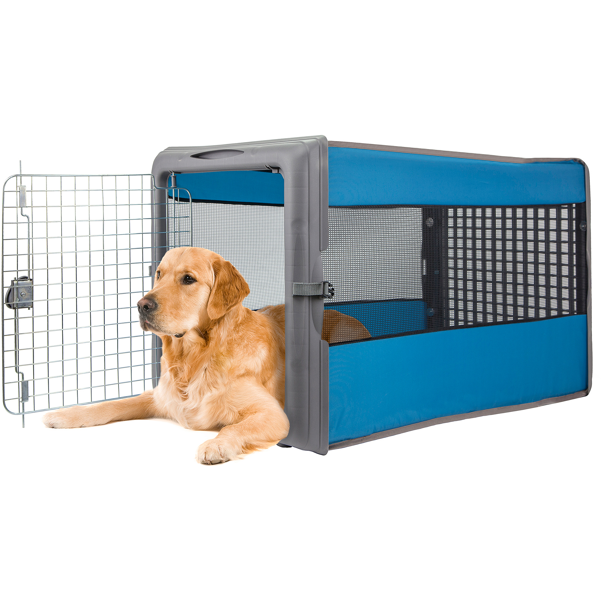 "Sportpet Large Pop Crate Pet Crate, 20.75""W x 36""D x 22""H, Assorted"