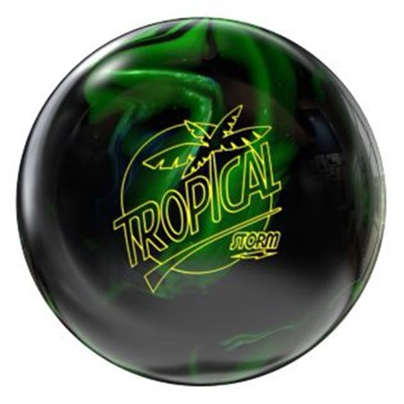 Storm Tropical Storm Bowling Ball- Black/Lime