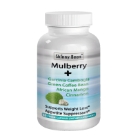 Skinny Bean MAX-White MULBERRY leaf extract + Garcinia Cambogia + Green Coffee Bean + African Mango + Cinnamon