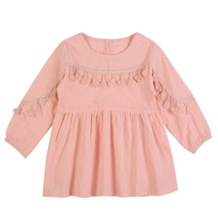 b1fd4ec12754d JEFFENLY Baby Girls Summer New Cherry Print Dress Princesse Toddler Dress  Kids Clothes Vestido Children Princess Dresses