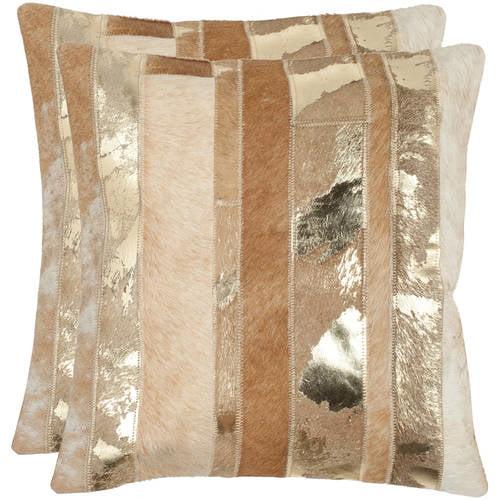 Safavieh Peyton Striped Pillow, Set of 2
