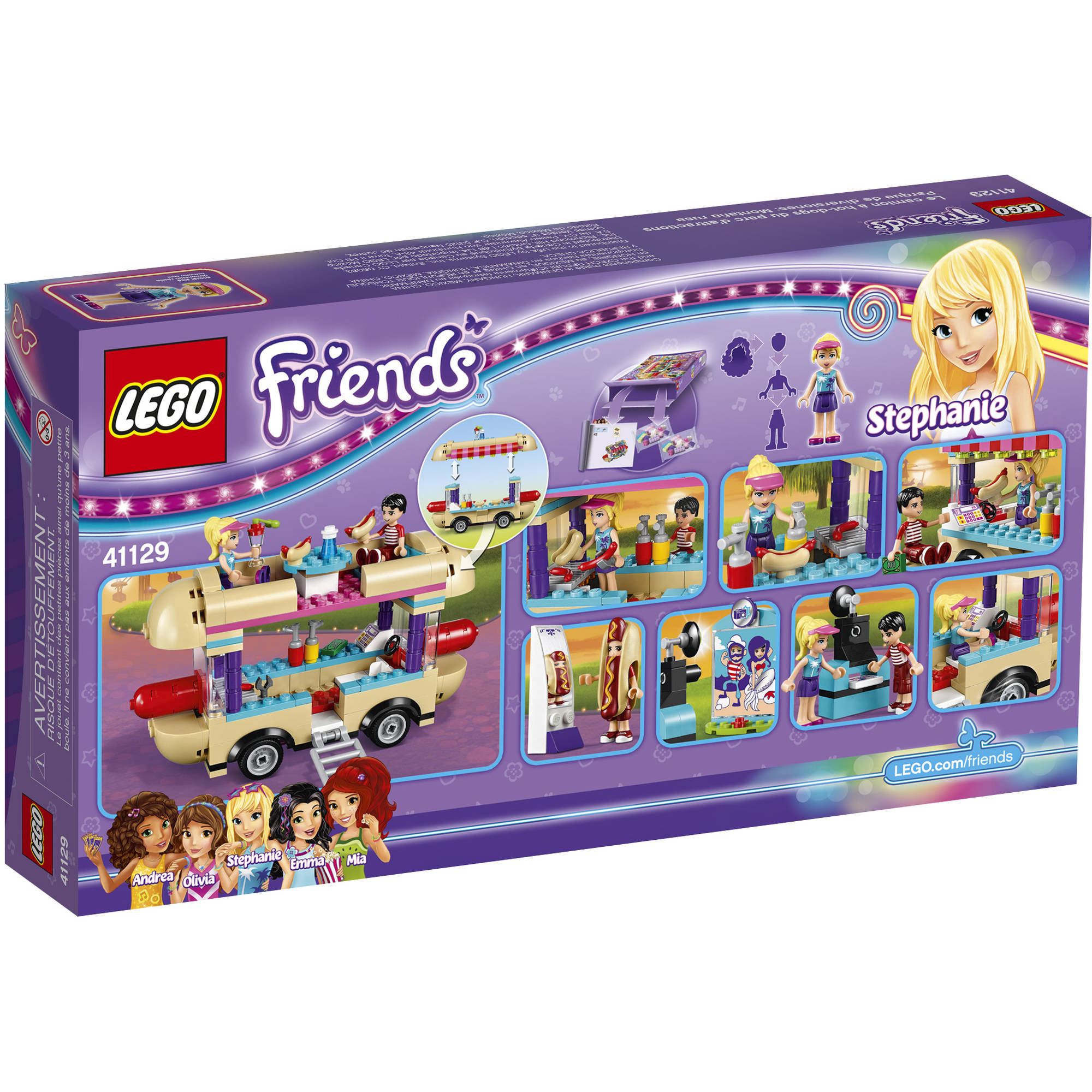 LEGO Friends Amusement Park Hot Dog Van 41129