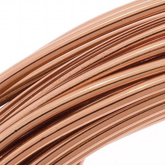 Aluminum Craft Wire Light Copper Color 12 Gauge 39 Feet (11.8 Meters)