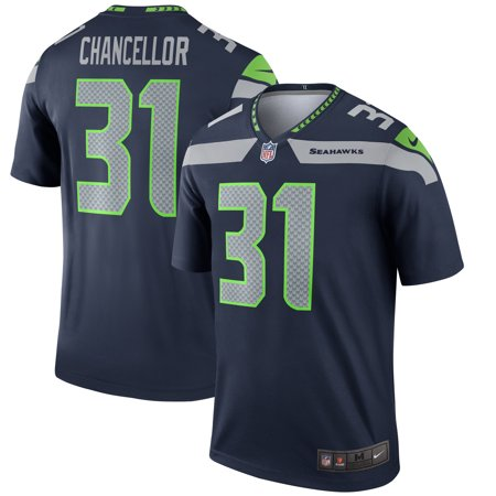 8df3bc9a2 Kam Chancellor Seattle Seahawks Nike Legend Jersey - College Navy -  Walmart.com