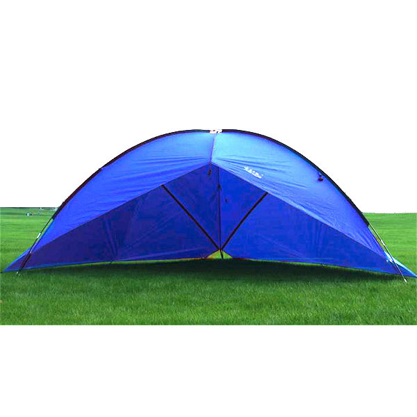 Outdoor Large Three-sided Camping Tent Sunshade Canopy Sun Shelter Rainproof by