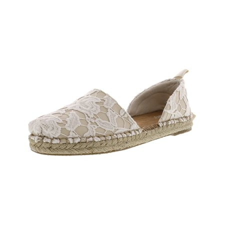Toms Women's Katalina Lace Birch Floral Flat Shoe - 9M](Toms Shoes On Clearance)