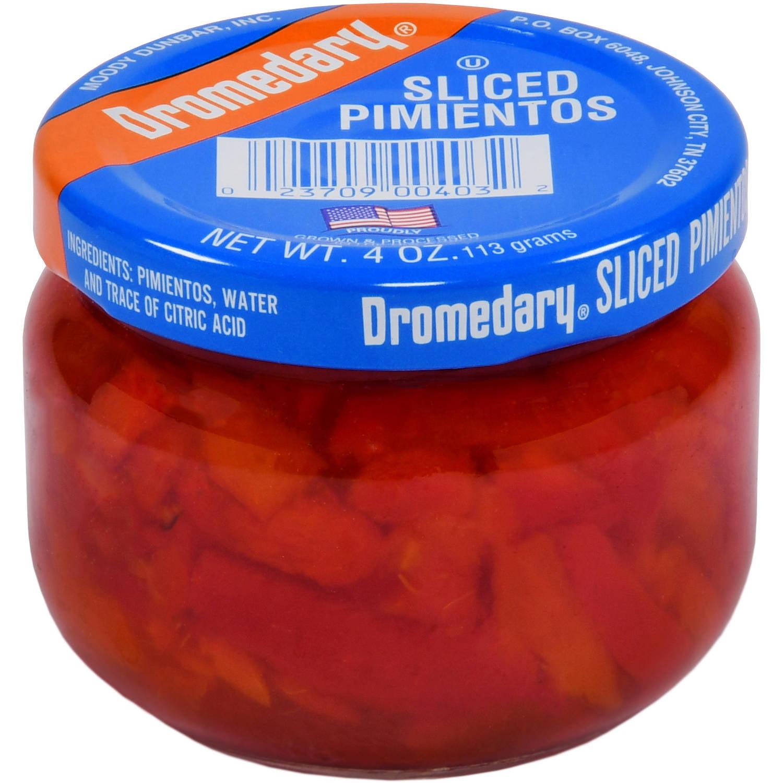 (6 Pack) Dromedary Sliced Pimientos, 4 Oz