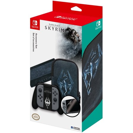 HORI The Elder Scrolls V Skyrim Limited Edition Accessory Set Officially Licensed by Nintendo & Bethesda for Nintendo Switch - Skyrim Halloween Edition