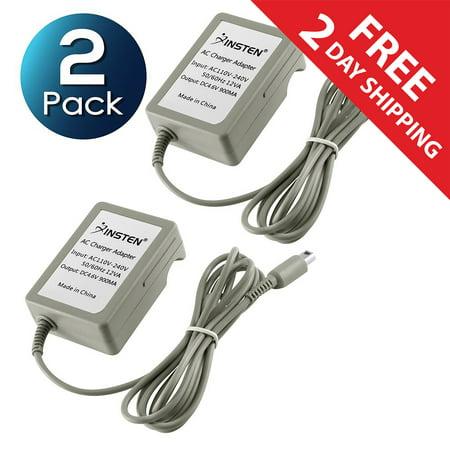 2 Pack Insten Travel AC Wall Charger for Nintendo NEW 3DS XL / NEW 2DS XL / DSi / DSiXL / DSiLL / 3DS XL LL 2DS 3DS (Premium Rapid Folding Power Adapter)
