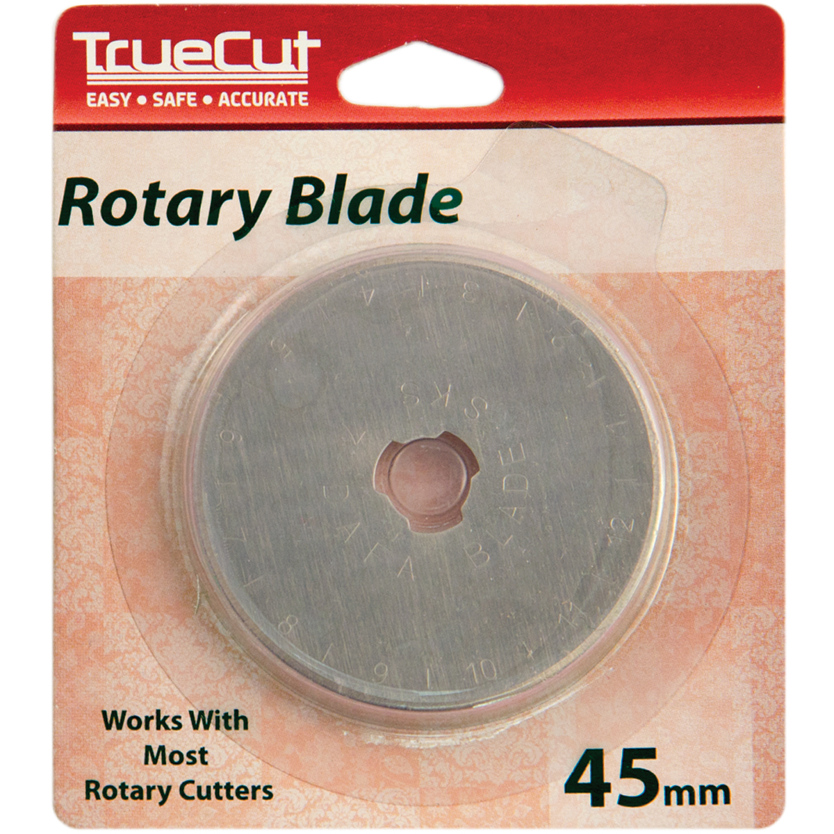 TrueCut Rotary Cutter Replacement Blades, 45mm