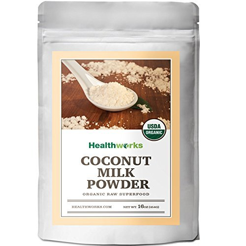Healthworks Coconut Milk Powder Organic (Dairy Free), 1lb by