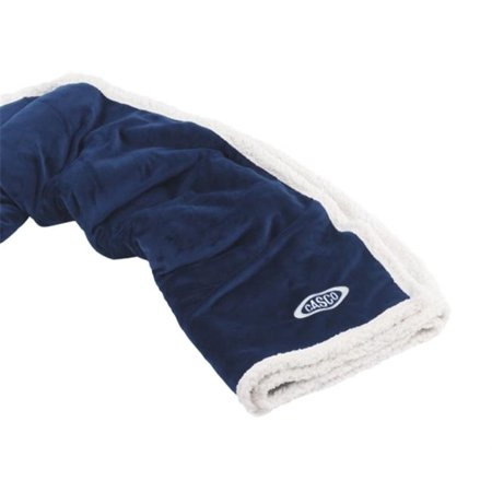 Navy Country Lambswool - Living Health Products 35_DC_20317 Country Lambswool Throw - Navy
