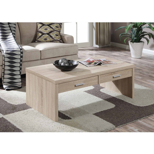 Convenience Concepts Key West Coffee Table, Weathered White