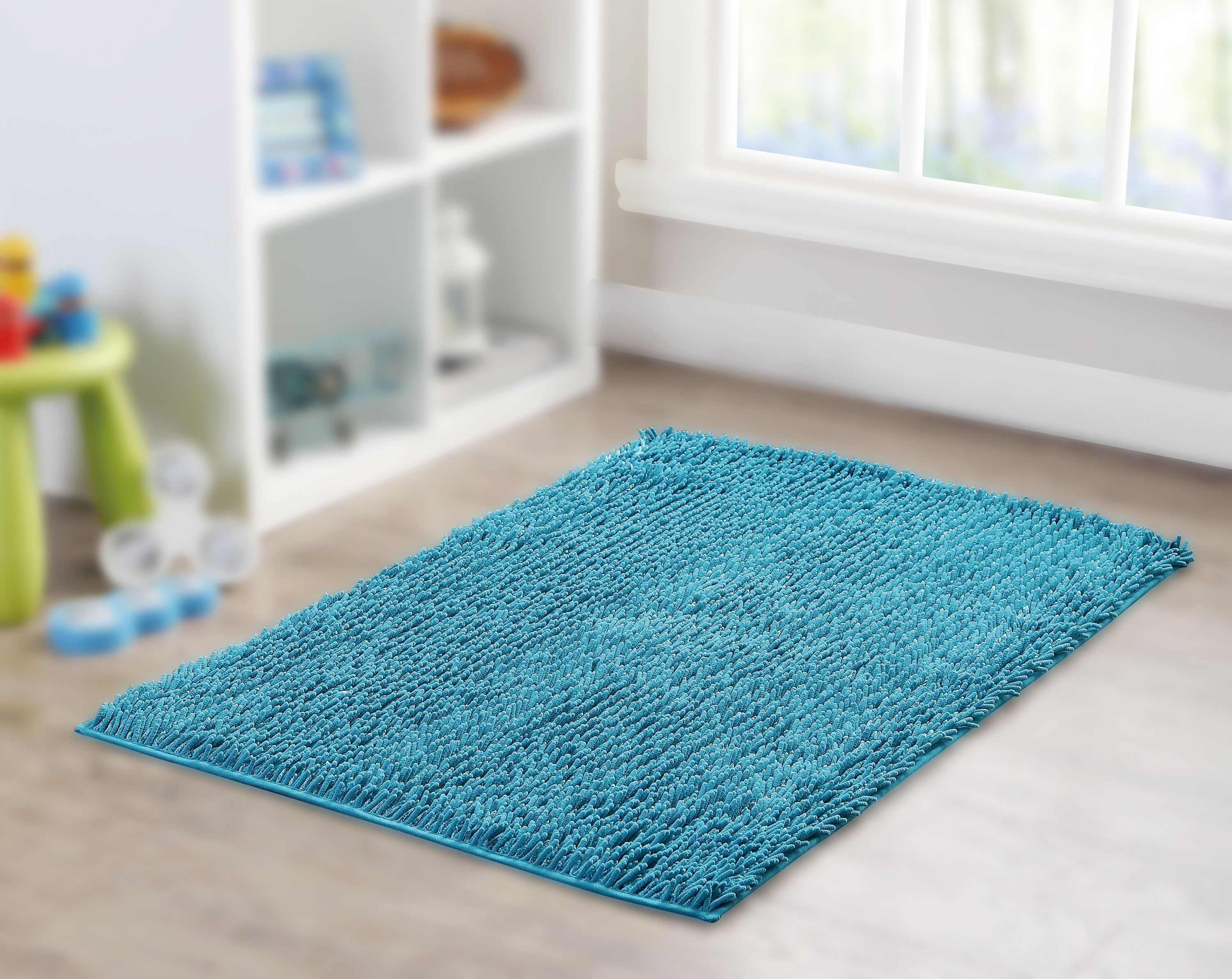 Your Zone Shiny Noodle Area Rug, Multiple Colors Available - Walmart.com