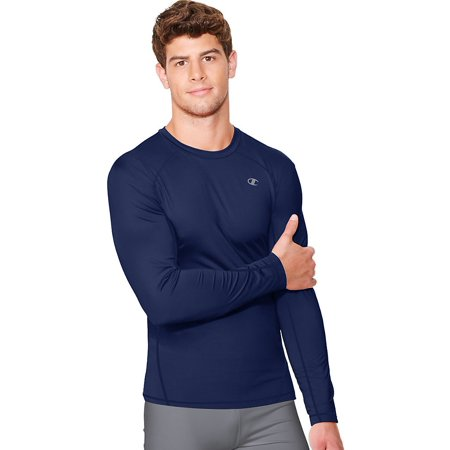 2eca94b4 Champion - Men's Vapor PowerTrain Long Sleeve Tee - Walmart.com