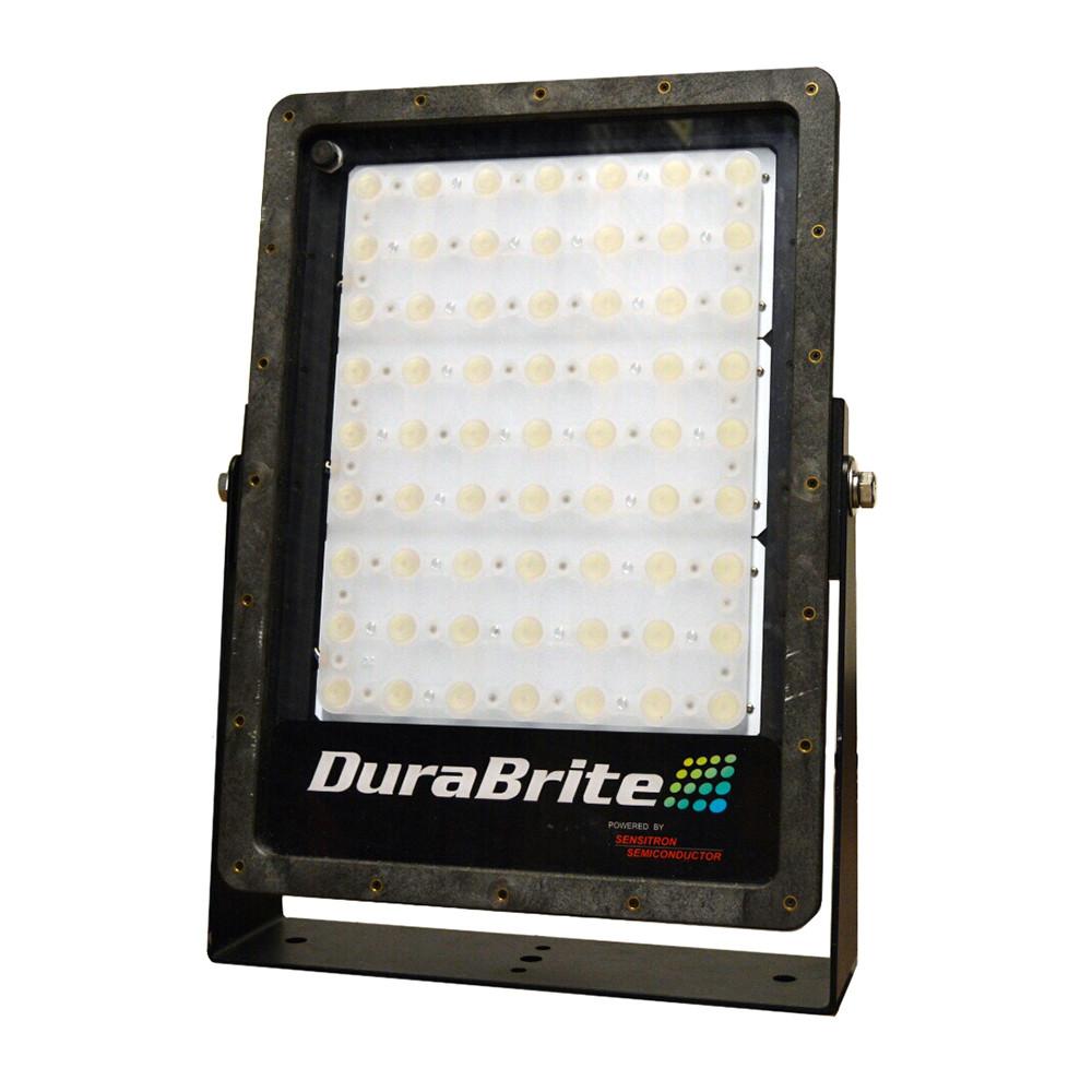 DuraBrite SLM Flood Light - Black Housing/White LEDs - 270W - 48V - 35,000 Lumens