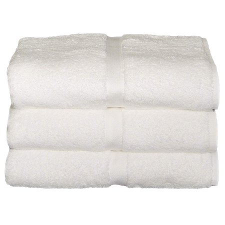 Baltic Linen Chelsea Collection Hotel/Hospitality Towel Set White Bath