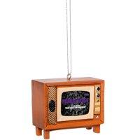 TCU Horned Frogs Retro TV Ornament