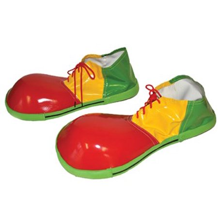 Adult Clown Shoes Halloween Accessory](Clown Face Designs Halloween)