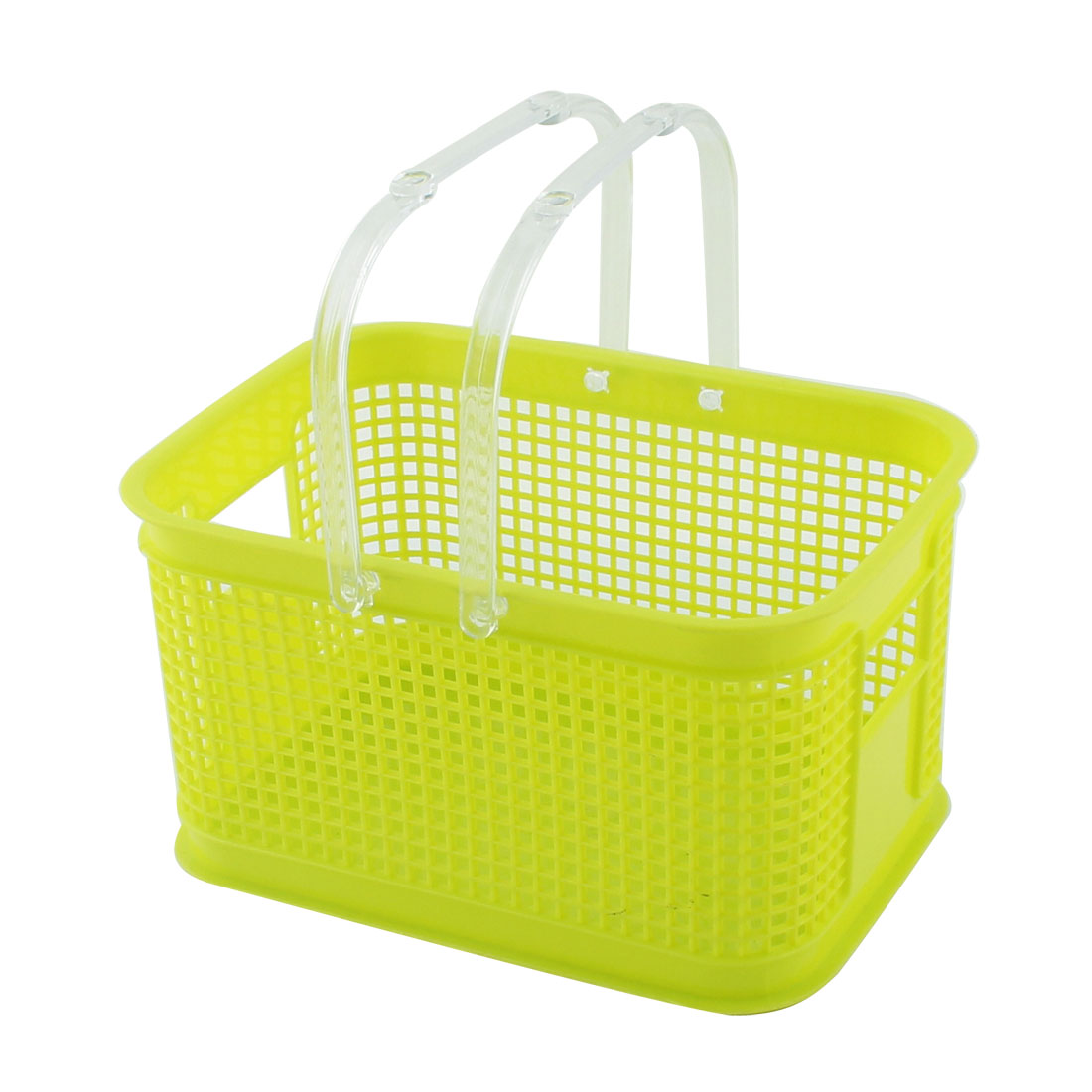 Bathroom Plastic Portable Shower Gel Soap Storage Organizer Basket Box Green