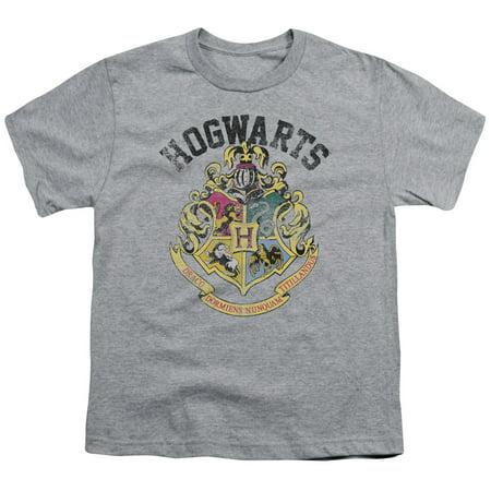 Harry Potter Hogwarts Crest Big Boys Youth Shirt - Harry Potter Dressing Up Clothes